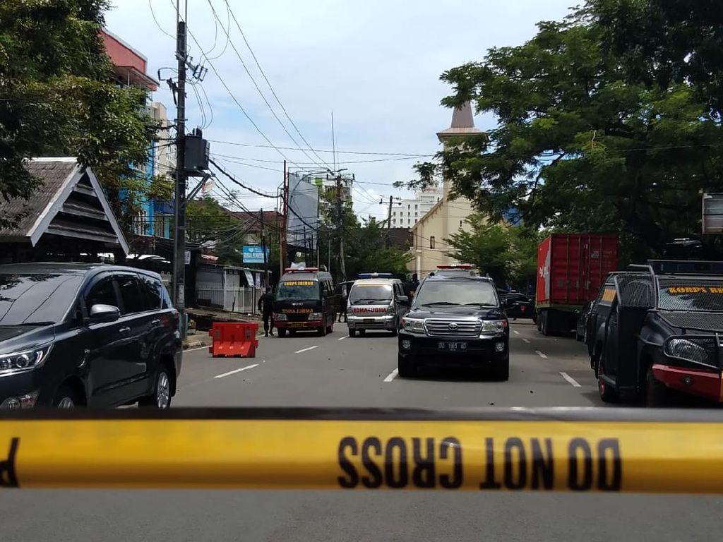 Polisi Imbau Misa Berikutnya di Katedral Makassar Ditunda Imbas Bom Bunuh Diri