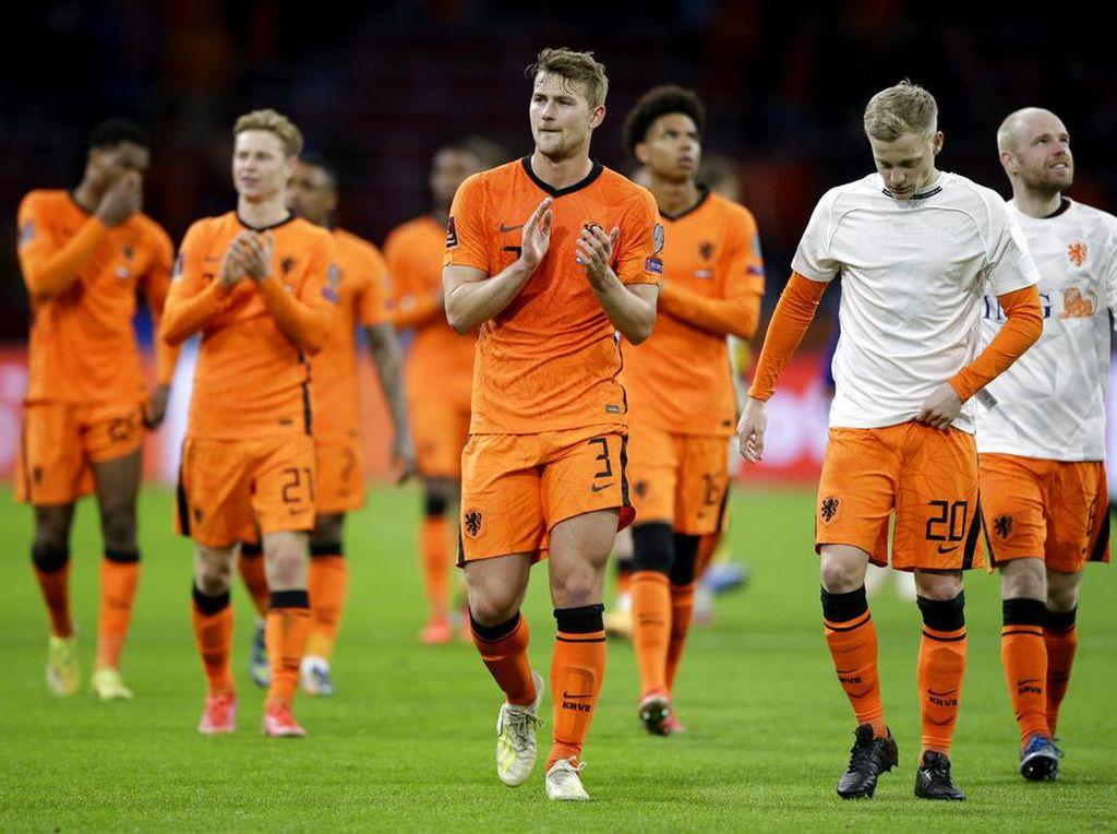 Belanda Umumkan Skuad Piala Eropa 2020, Tak Ada Van Dijk