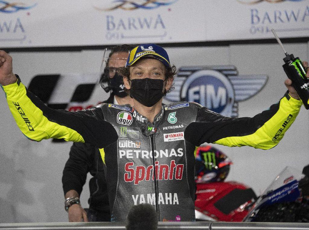 MotoGP Qatar 2021: Bisa Naik Podium, Valentino Rossi?