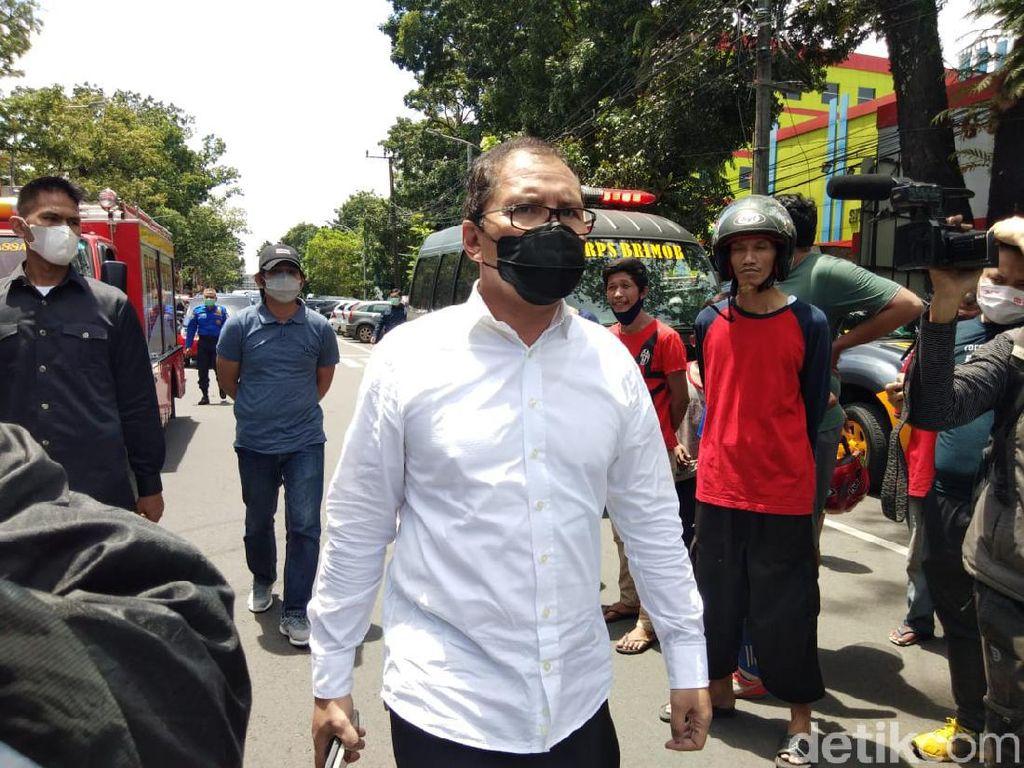 Ledakan di Makassar, Danny Pomanto Cek Rekaman CCTV Sekitar Gereja Katedral