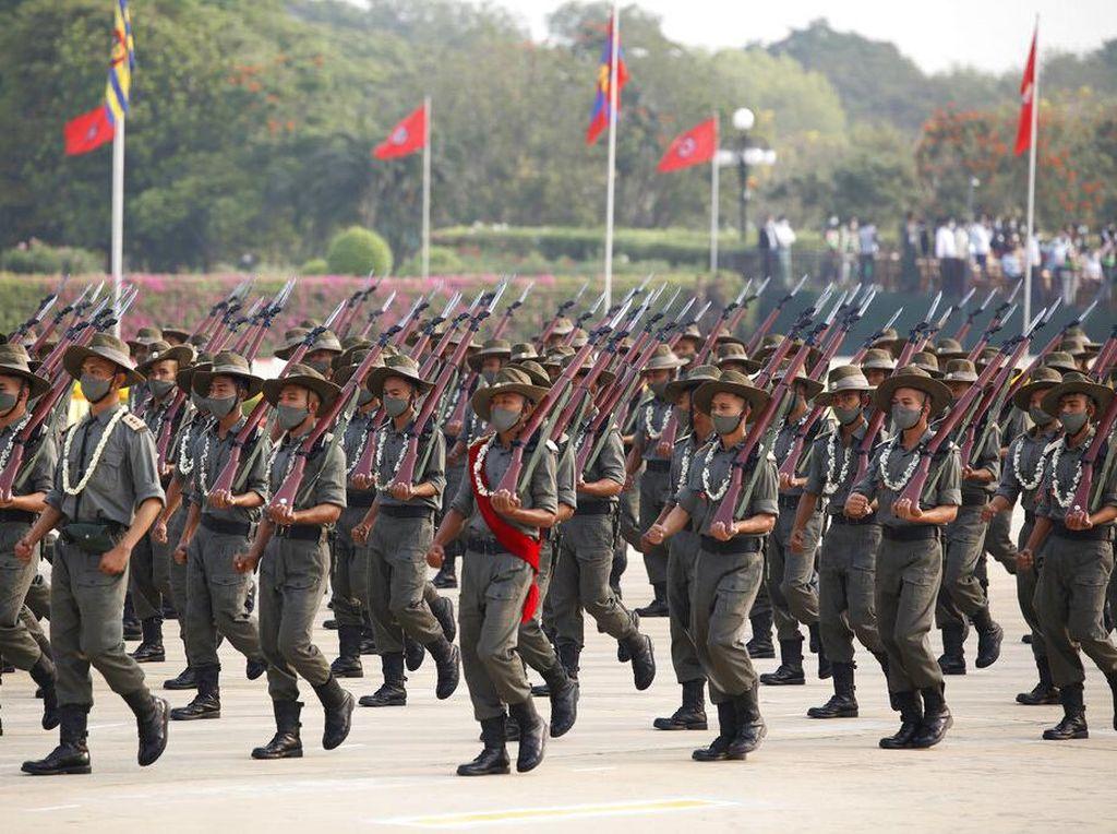 19 Orang Divonis Mati Atas Tuduhan Bunuh Kolega Tentara Myanmar
