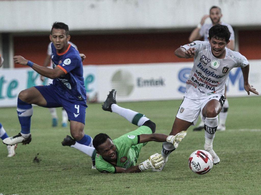 Rizky Pellu Kunci Bali United Tumbangkan Persiraja