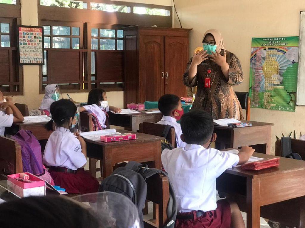 Sekolah Tatap Muka di Sragen Mulai 5 April, 71 TK-SMP Simulasi Hari Ini
