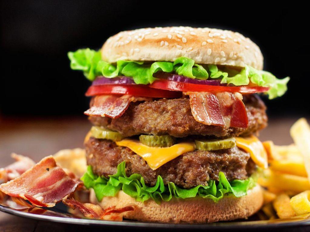 Burger Sultan Diracik dari Bahan dan Bumbu Paling Baik