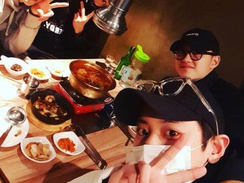 Chanyeol EXO Wajib Militer, Ini Momen Serunya Saat Makan BBQ dan Kimbab