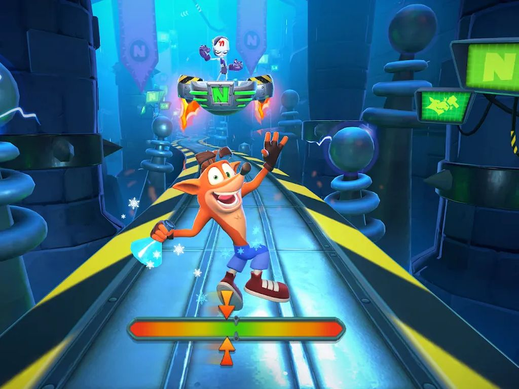 Crash Bandicoot: On The Run Rilis di Mobile, Sudah Diunduh 10 Juta Kali