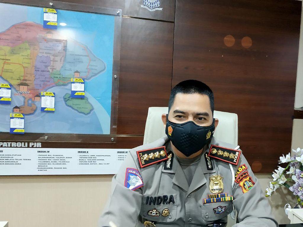 Polda Bali: Pengendara Mercy Halangi Mobil Damkar Langgar Aturan