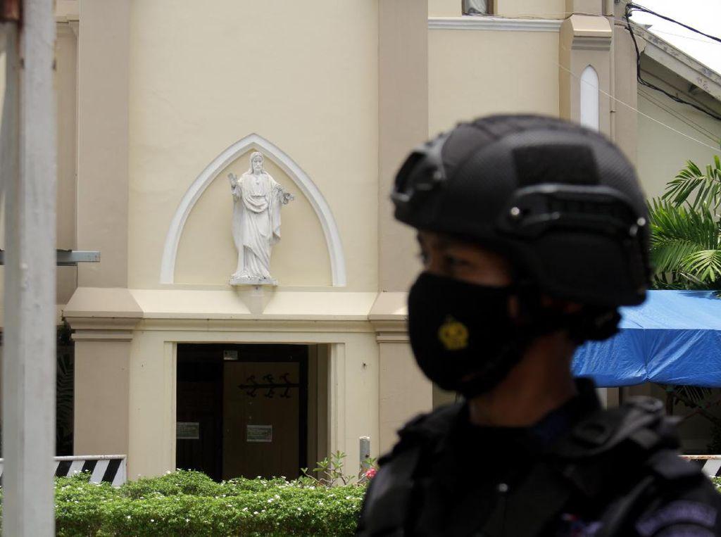 Singapura Kutuk Bom Bunuh Diri di Gereja Katedral Makassar
