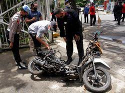Pelaku Bom Bunuh Diri Makassar Tinggalkan Surat Wasiat Siap Mati Syahid