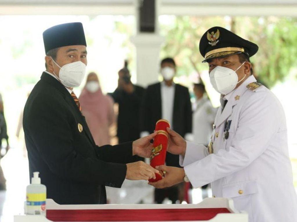 Lantik Pj Bupati Inhu, Gubernur Riau Harap PSU 1 TPS Kondusif