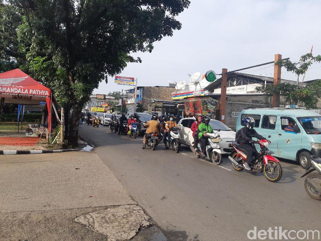 Putar Balik Jl Moh Kahfi I Akan Dipindah Dekat SPBU Pasar Timbul