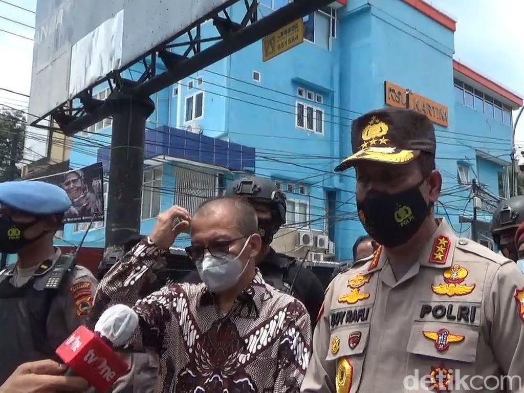 BNPT Duga Pasutri Bomber di Makassar Belajar Buat Bom via Online