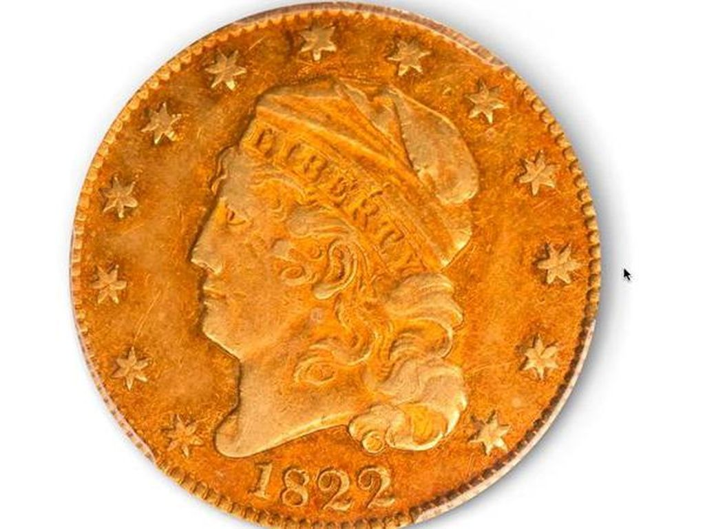Percaya Tidak, Koin Emas Ini Laku Dilelang Rp 121 Miliar