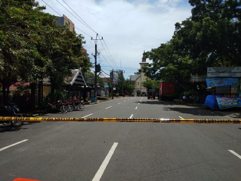 Olah TKP Bom Bunuh Diri di Makassar Selesai, Lalin Akan Dinormalkan