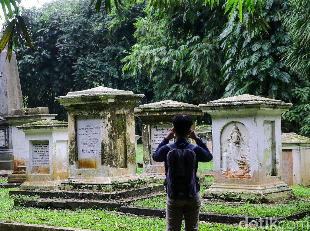 Makam Belanda di Kebun Raya Bogor, Tempat Petinggi Kolonial Bersemayam