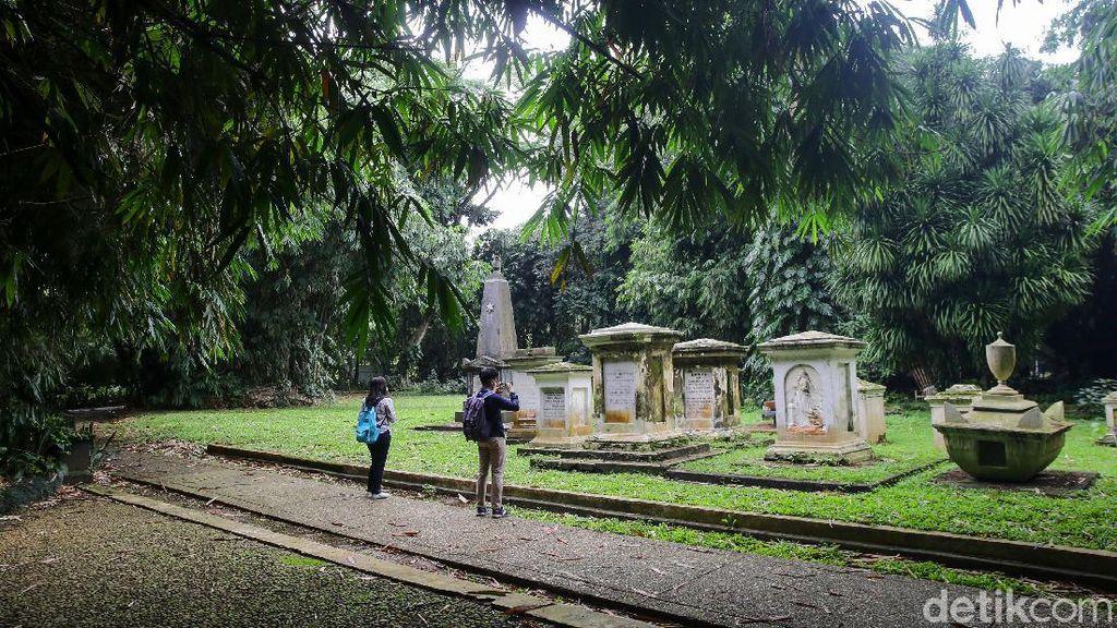 Tak Banyak yang Tahu, Ini Makam Belanda di Kebun Raya Bogor