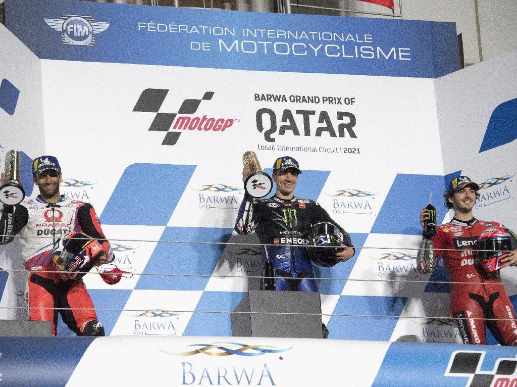 Klasemen MotoGP 2021: Vinales Memimpin, Disusul Zarco
