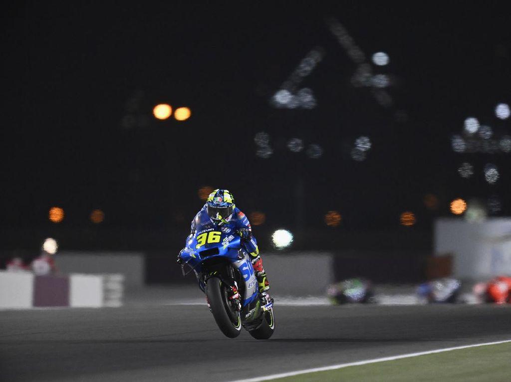 Joan Mir di MotoGP Qatar: Kemarin Ngamuk, Sekarang Tersenyum