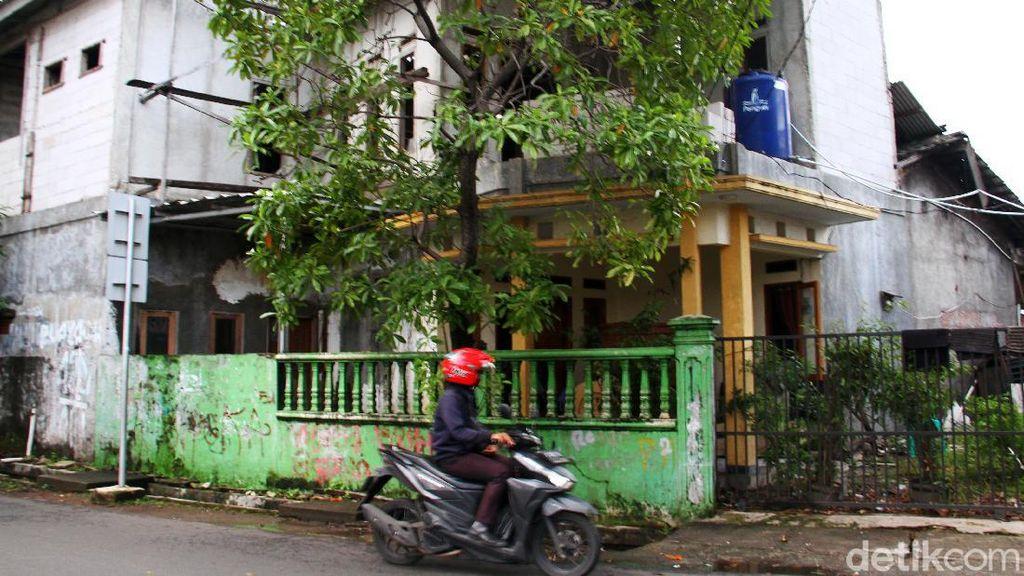 Penampakan Rumah Terduga Teroris di Condet