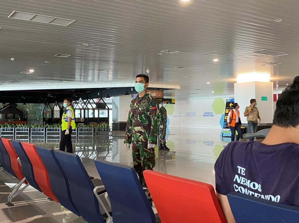 Pascabom Bunuh Diri Makassar, Bandara Semarang Perketat Pengamanan