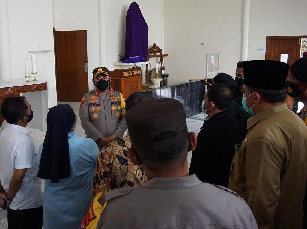 Polisi Jamin Perayaan Paskah 29 Gereja di Mojokerto Aman