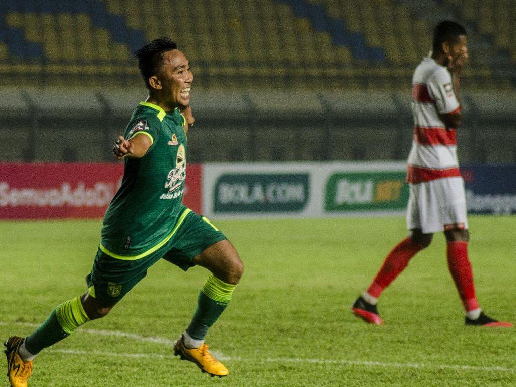 Hasil Piala Menpora 2021: Persebaya Sikat Madura United 2-1