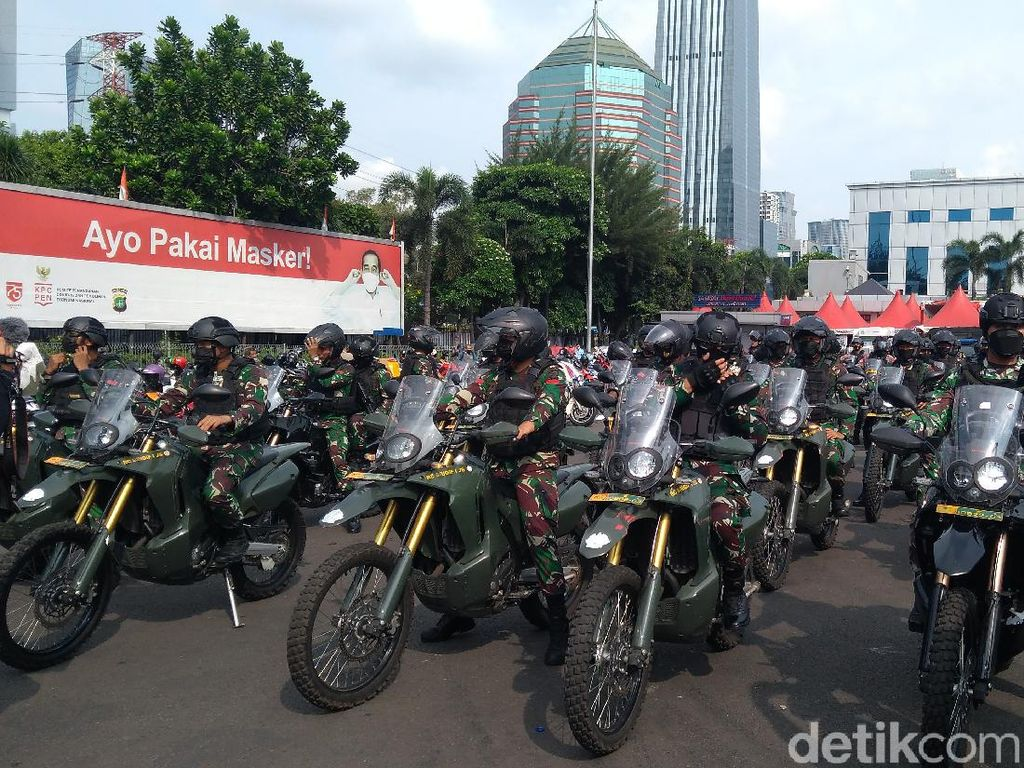 Pascabom di Makassar, TNI-Polri Patroli ke Sejumlah Gereja di Jakarta