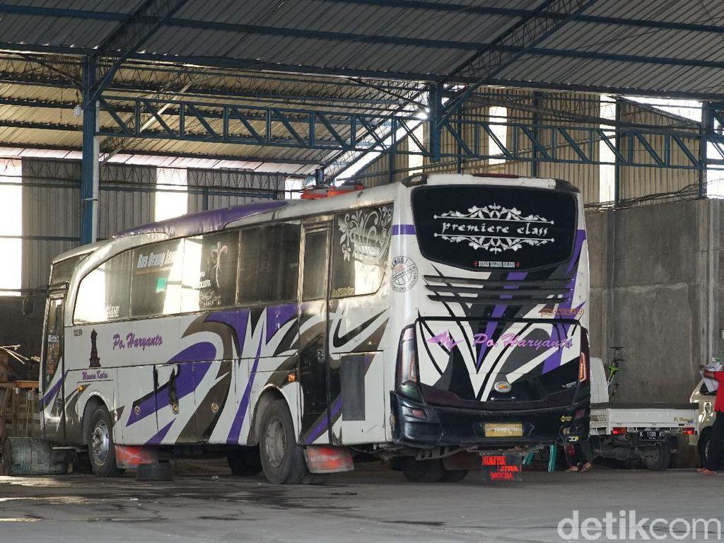 Bus PO Haryanto Umur 5-6 Tahun Sudah Diganti, Dijual Berapa Bekasnya?