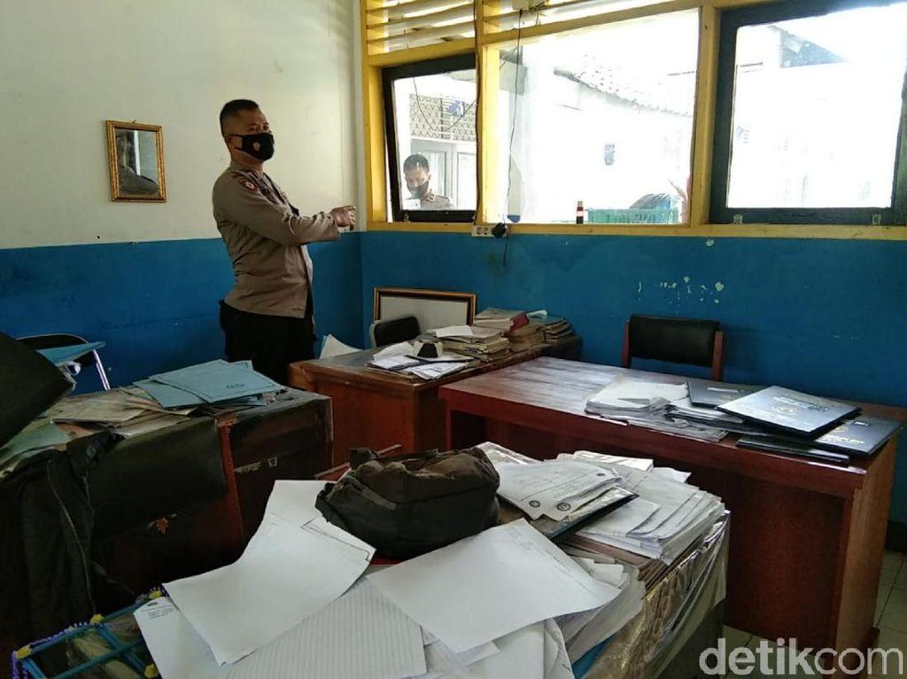 Komplotan Pencuri Bobol Kantor Desa dan SMP di Cianjur