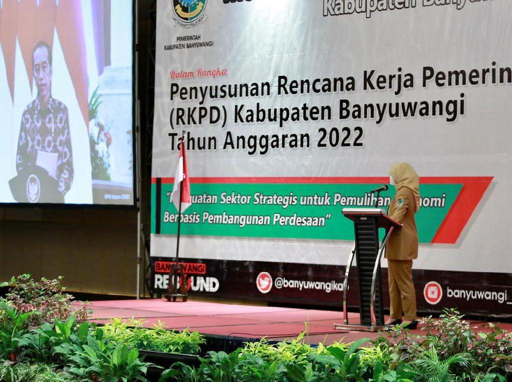 Ini Prioritas Pembangunan Banyuwangi hingga 2022 Sesuai Arahan Presiden