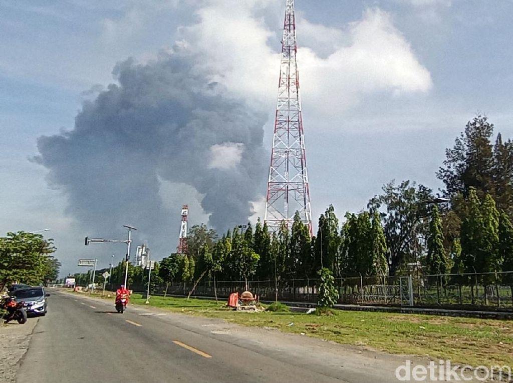 Gardu Listrik Terdampak Kebakaran Kilang Balongan, PLN Lakukan Normalisasi