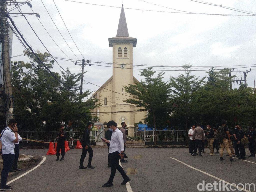 Update Korban Bom Bunuh Diri Makassar: 15 Masih Dirawat, 4 Boleh Pulang