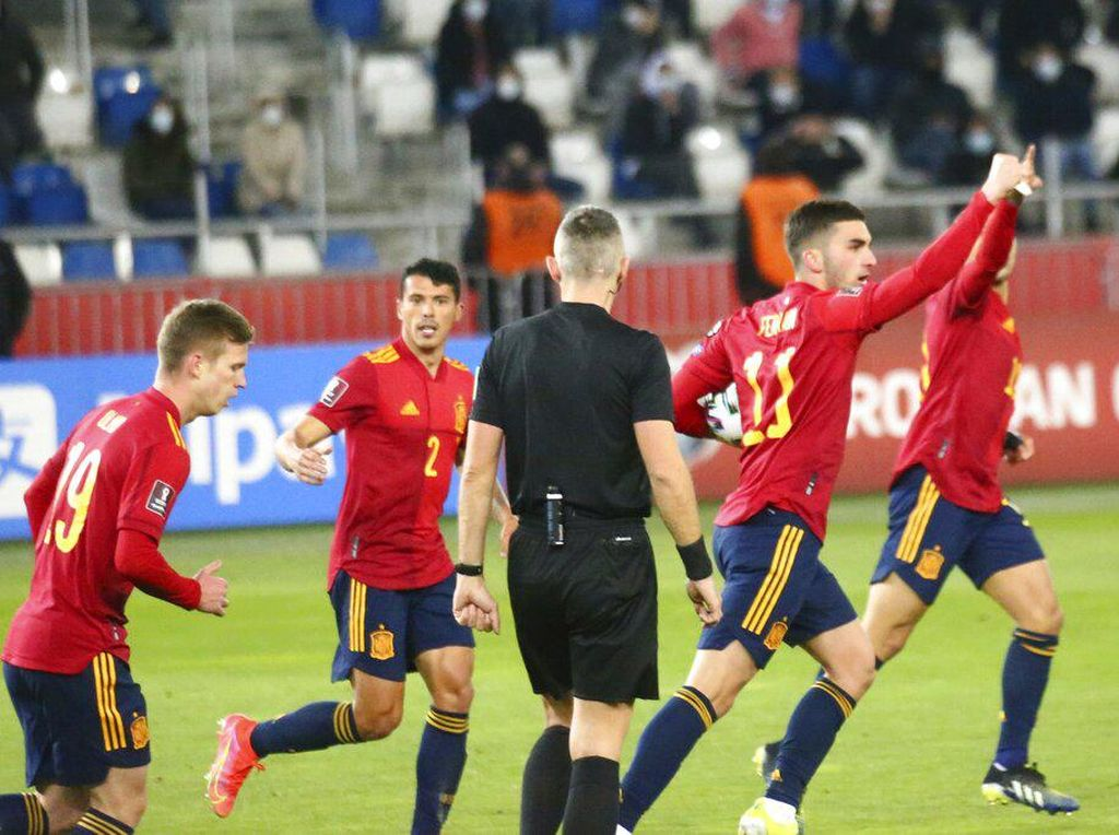 Hasil Kualifikasi Piala Dunia 2022: Spanyol, Prancis, Inggris Menang
