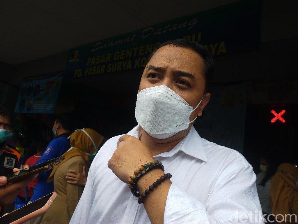 Pemkot Surabaya Bisa Alokasikan 58 Ribu Vaksin untuk Pedagang hingga UMKM