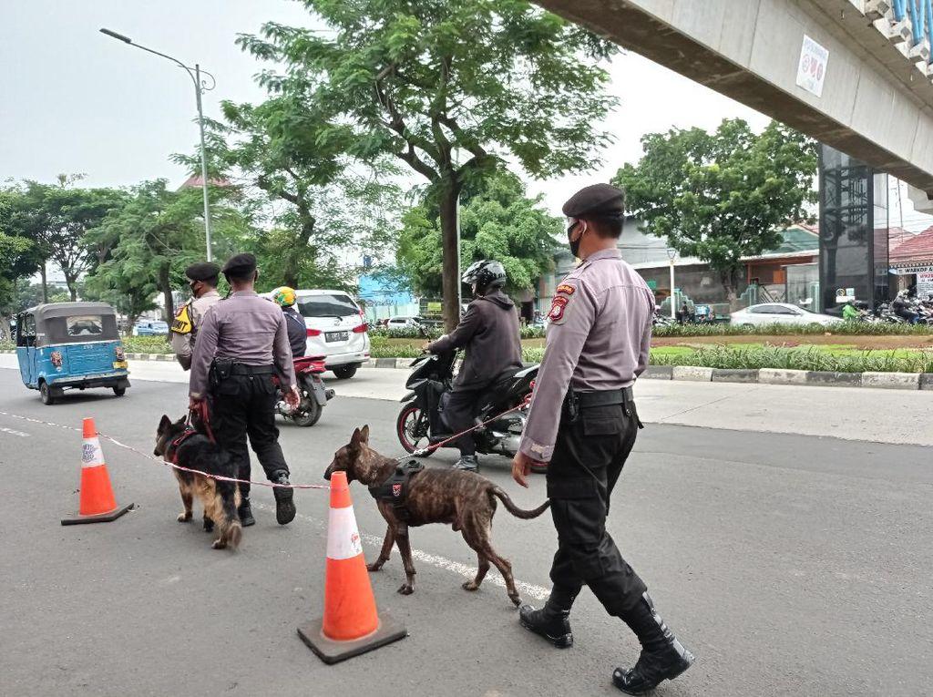 Anjing Pelacak Dikerahkan Amankan Sidang Habib Rizieq di PN Jaktim