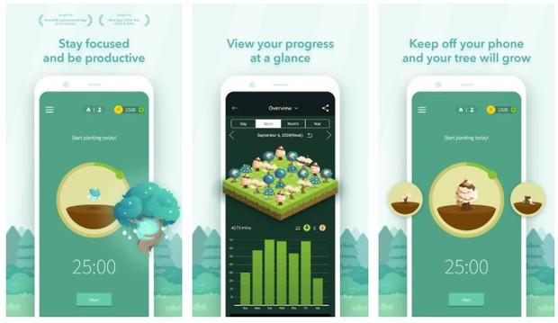Aplikasi forest