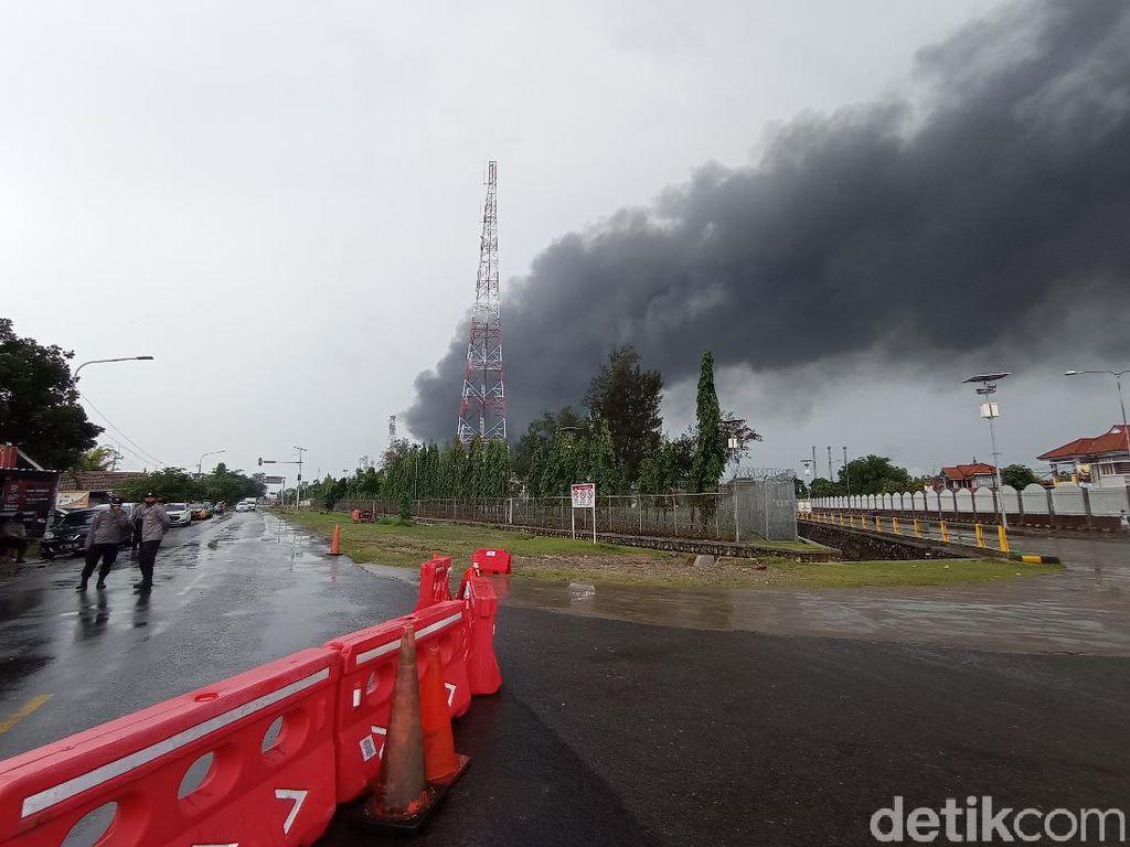 Kilang Pertamina Indramayu Terbakar, 7 Korban Luka Berat Dirujuk ke RSPP