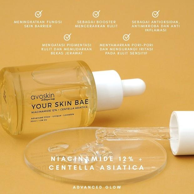Skincare Lokal dengan Niacinamide