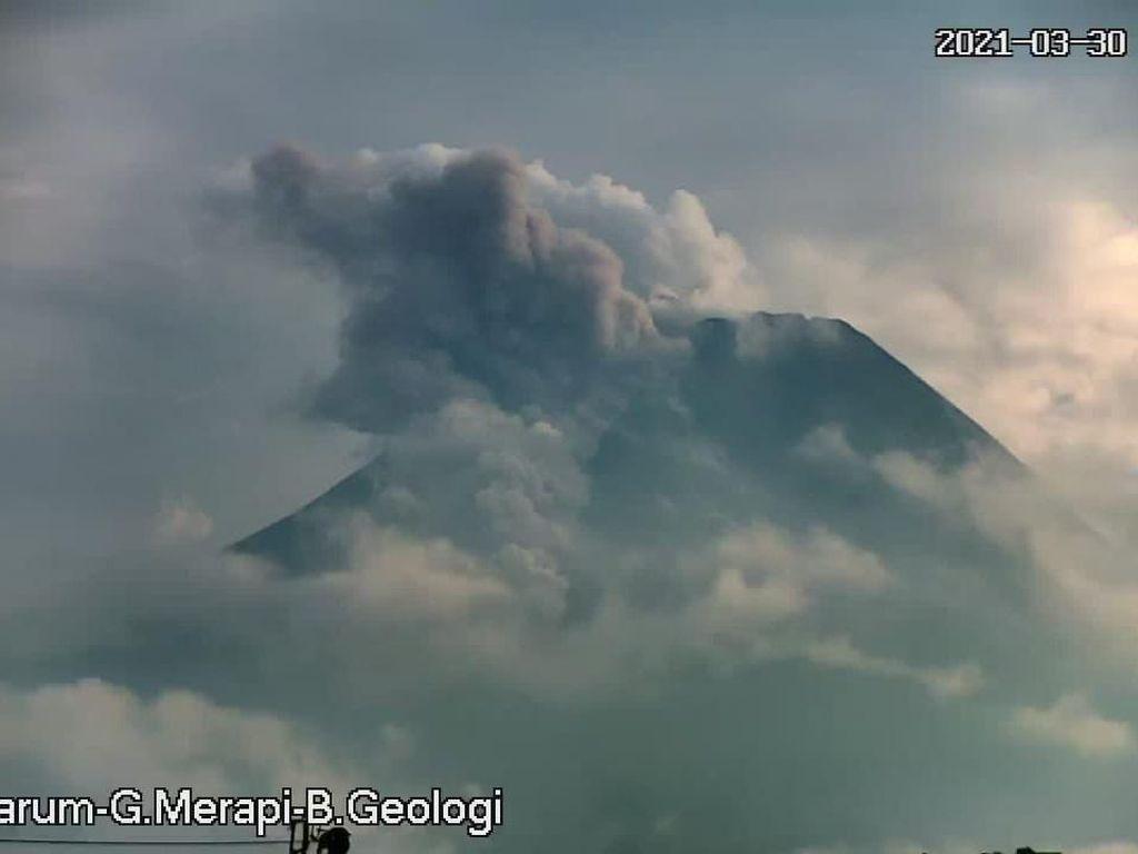 Kecamatan Dukun Magelang Hujan Abu Erupsi Gunung Merapi