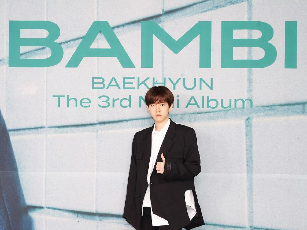 Baekhyun EXO Comeback Solo Hari Ini, Ungkap Arti dari Bambi