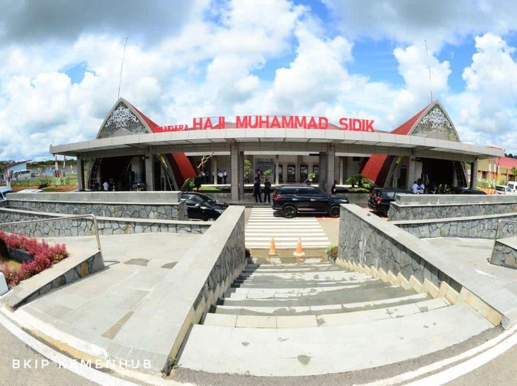 Bandara Haji Muhammad Sidik Jadi Sokongan Proyek Food Estate
