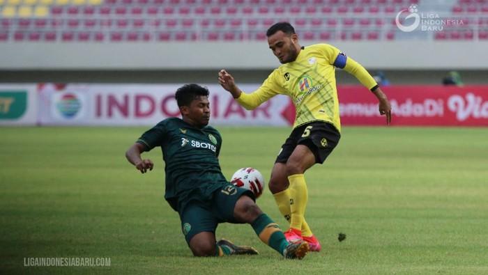 Barito Putera vs Tira Persikabo bertanding di Grup A Piala Menpora 2021 yang digelar di Stadion Manahan, Solo, Selasa (30/3/2021).