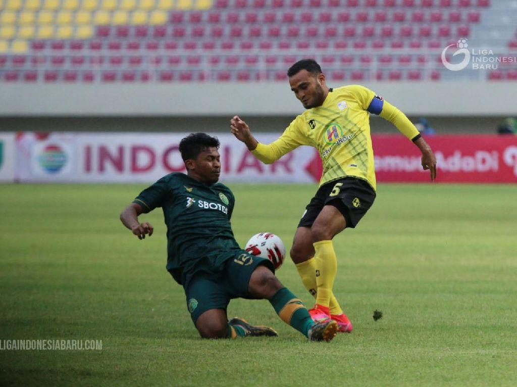 Piala Menpora 2021: Imbangi Persikabo, Barito Putera Lolos ke Delapan Besar