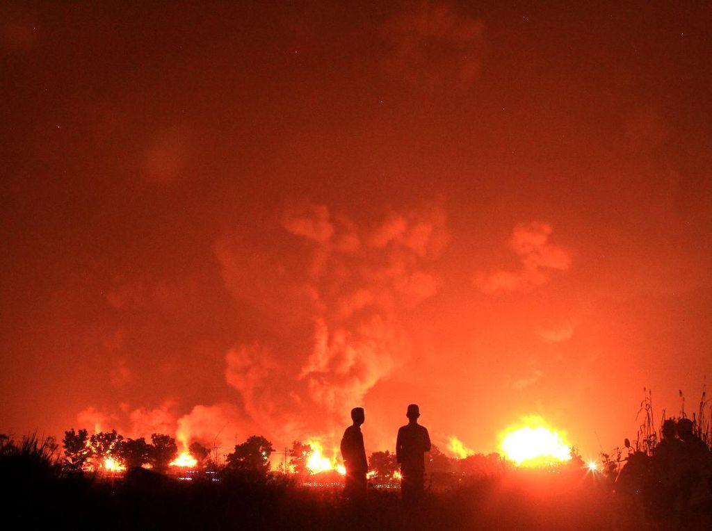 Ombudsman Beri Catatan Soal Ganti Rugi Korban Kebakaran Kilang Balongan