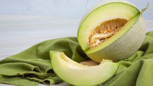 Buah melon.