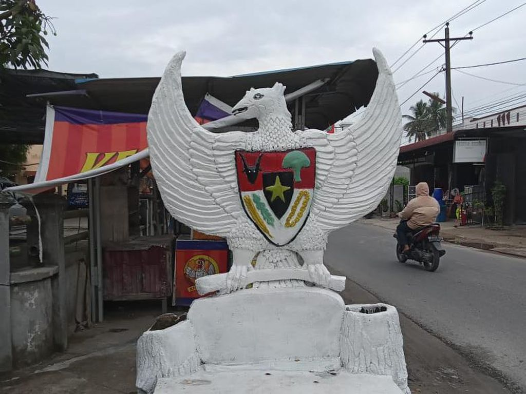 Viral Burung Garuda di Asahan Dicat Putih, Warga Ngadu ke Polisi