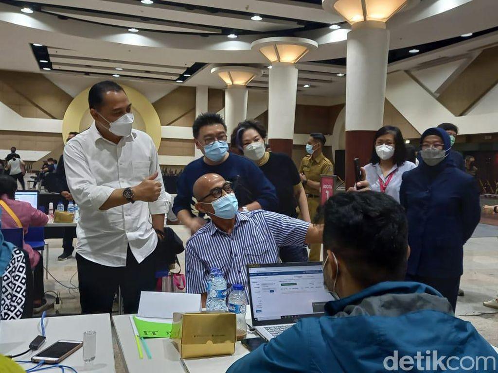 Eri Harap Semakin Banyak Lokasi Untuk Vaksin Massal di Surabaya
