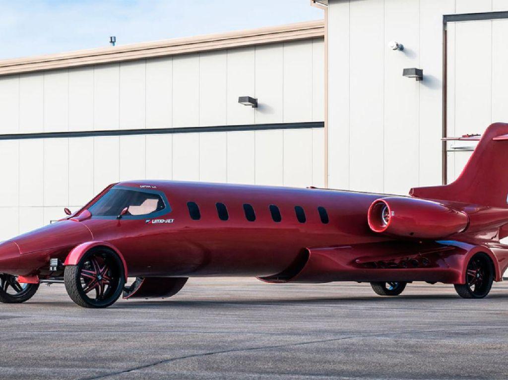 Dilelang Nggak Laku! Ini Jet Pribadi Jalanan yang Bisa Angkut 18 Penumpang