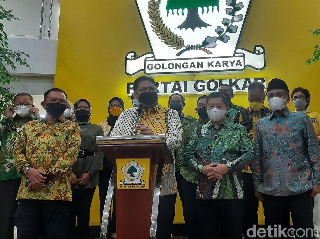 Ini Hasil Pertemuan Airlangga dan Ketum PPP di DPP Golkar
