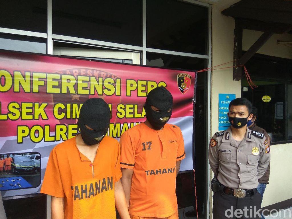 Komplotan Curanmor Jaringan Lampung Dibekuk Polsek Cimahi Selatan